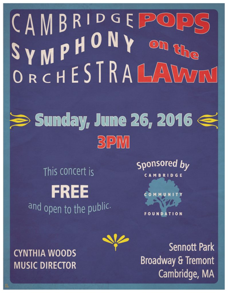 Pops on the Lawn - CSO posters