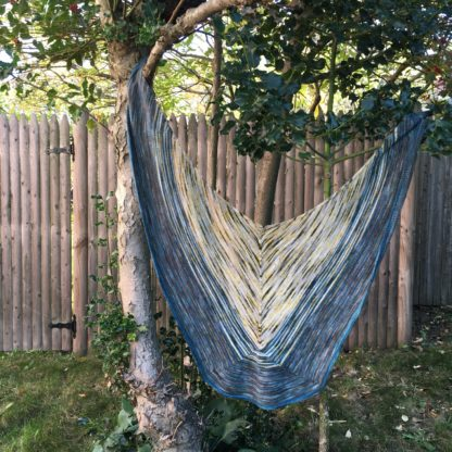 The Tuplet Shawl at Knitty.com