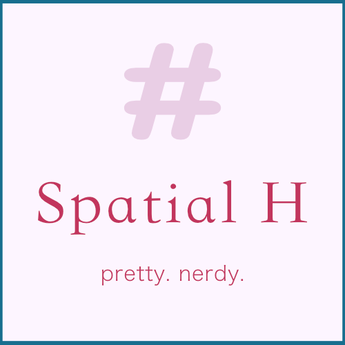 Spatial H pretty nerdy Heather Classen art and design